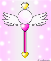 Chibi Cosmos' Wand by Sweet-Blessings