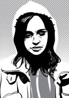 Jessica Jones line 1 by tonyob