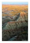 Badlands Evening Glow by Julian-Bunker