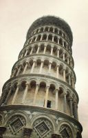 Leaning tower of Pisa by Nattyw
