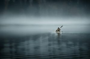 Heading To The Mist by MikkoLagerstedt