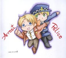APH - Arrest Police by timko77