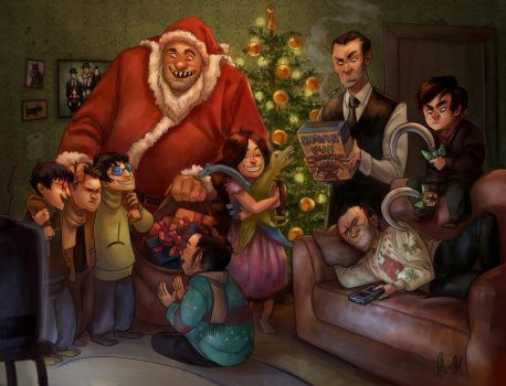 MERRY MOBSTER CHRISTMAS by arok318