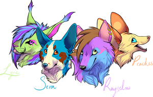 Badge Collection by iRaynebow
