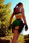 Lara Croft - usual angle by TanyaCroft