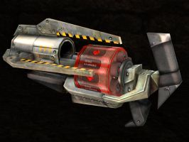 Chaos Grenade Launcher by Seargent-Demolisher