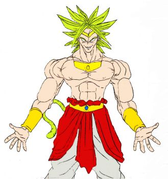Broly by Chunky-Ball-Z