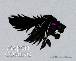 MARCH IS COMING by ArtbyMaryC