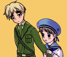 England and Sealand by iCanadianBacon