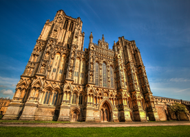 Wells Cathedral 2 by Vitaloverdose