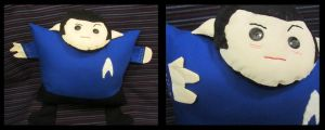 Spock Plushie Doll by orinocou