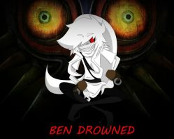 BEN DROWNED Vent Art? by xXLoneVictimXx