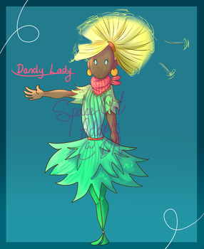 [OPEN] [AUCTION] Dandy Lady by SpaceOwlAdoptables