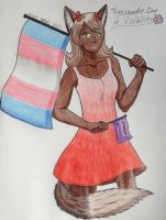 Trans Day of Visibility ~ Lexi by Poptart2Belinda