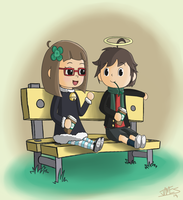 Cotton and Keel's coffee time by SpacePie