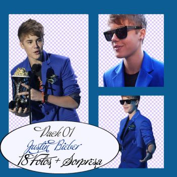 Pack 01 Justin Bieber by dinaedittions