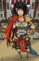 Bellona- The Goddess of War by Konsennin