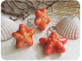 starfish jewelry set by BadgersBakery