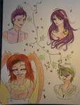 Special Tronches 1 +Zanuelle+ by Hane-no-hi