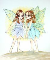 Fairies by GreenEyedBrunette