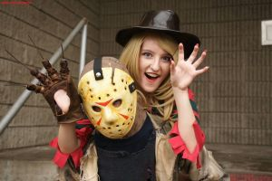 Fem Freddy Krueger: We're A Scream by HarleyTheSirenxoxo