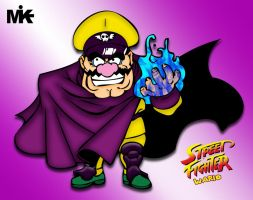 Street Fighter Wario by MightyMusc