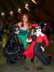 Gotham City Sirens Assemble by theprincessbee