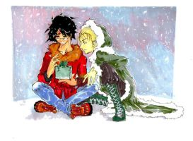 HP SLASH Christmas in the Snow by b-kitten