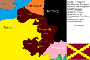 Republic of Burgundy by dragonvanguard