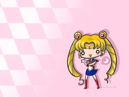 Sailor Moon Wallpaper by zelas