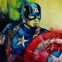 Captain America by lollypop3000