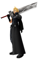 Cloud Strife by cchuauns1