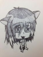 Neko Chibi Male Uke by Death-Rain18