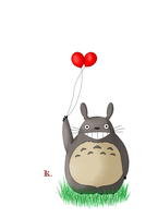 Totoro - Large by Khreeps