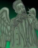 Weeping Angel of the Lord by MonsterSLUT
