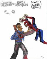 Ash vs. Zombie Spidey by Hyperkid37
