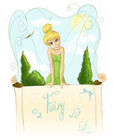 Tinker Bell by CoolCatFlora