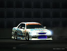 Blitz R34 Drift by bigfoot5lover