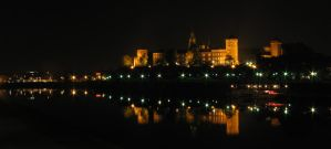 Cracow at night 1 by kaiiko