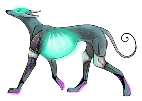 Android Dog [Closed] by J-Grey-Adopts