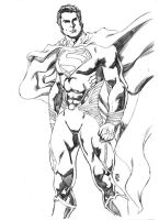2013 1st Man of Steel by JeanSinclairArts
