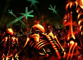 Army of corpses by EiriteL