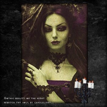 Gothic Beauty by Tasteofbloodwine