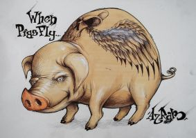 When Pigs Fly... by theAzram