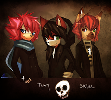 Comm::. Team Skull by thatWeasel