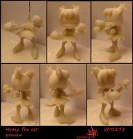 Honey the cat preview by Paumol