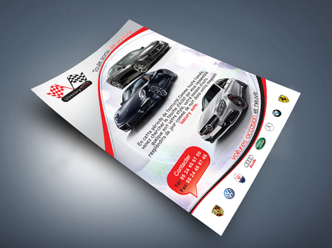 flyer AUTO by rachidbenour