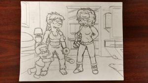 WIP.  Maggie and Lisa by simpspin