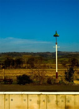 A Lampost on a Platform by roobaa
