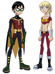 TT: Robin and Wonder Girl by Glee-chan